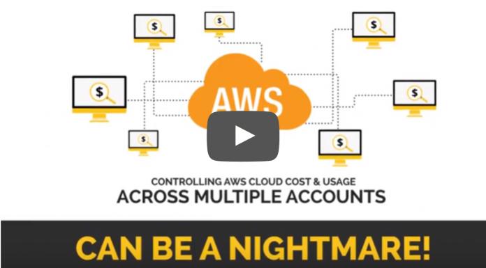 Multi-account cost monitoring
