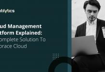 Cloud Management platform explained