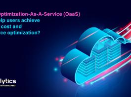 optimization as a service to optimize cloud