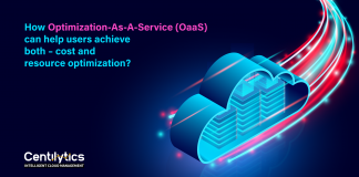 optimization as a service to optimize cloud